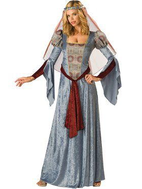 Womens Maid Marian Costume