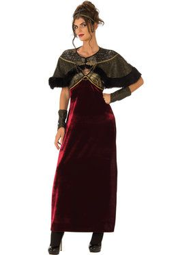 Womens Medieval Lady Costume