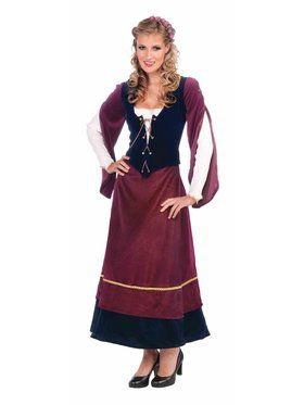 Medieval Wench Women's Costume