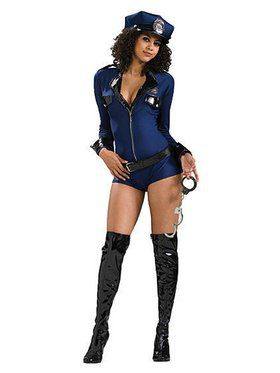 Women's Miss Demeanor Adult Costume