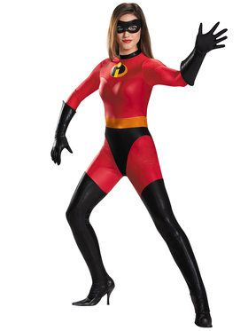 Disney's the Incredibles: Mrs. Incredible Bodysuit Costume For Women
