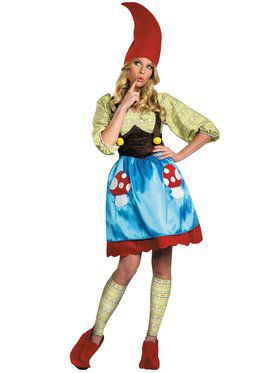 Womens Ms Gnome Costume