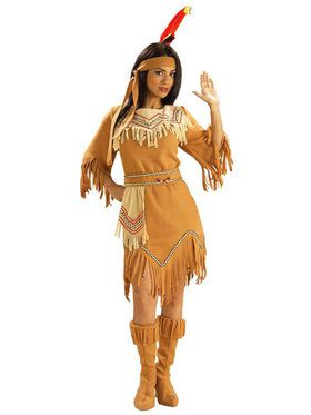 Womens Native American Maiden Costume  sc 1 st  BuyCostumes.com & Western Cowboy and Indian Costumes - Halloween Costumes ...
