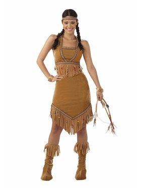 Women's Native American Princess Costume