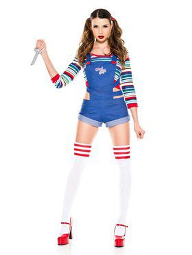 Killer Nightmare Doll Womens Costume