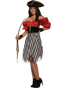 Pirate Matey Lady Costume for Adults