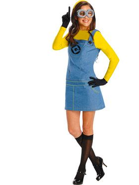 Despicable Me Plus Size Womens Minion Co
