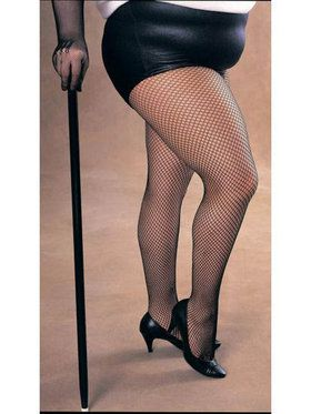 Womens Plus Size Fishnet Tights