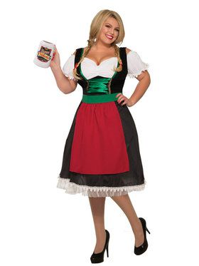 Fraulein Plus Size Adult Costume