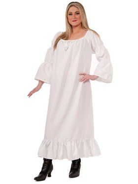 Plus Size Womens Medieval Chemise
