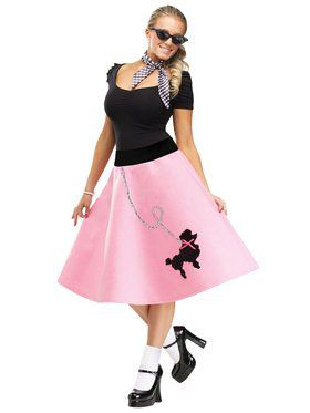 Womens Poodle Skirt