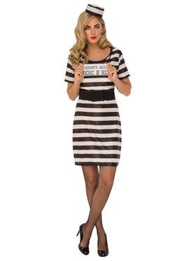 Womens Prisoner Costume