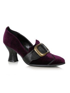 Womens Purple Solstice Witch Shoes