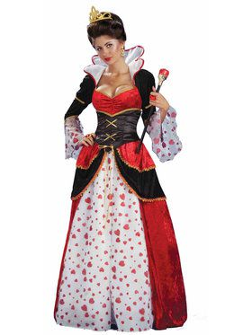 Womens Charmed Red Queen Costume