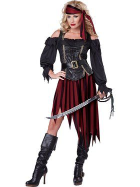 Queen Of The High Seas Womens Costume