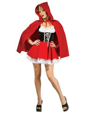 Sexy Little Red Riding Hood Costume for Women