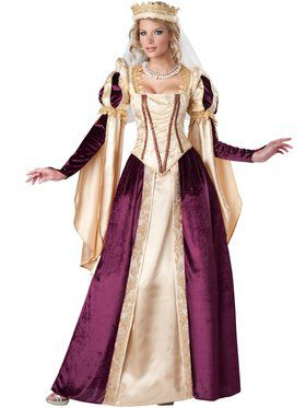 Womens Renaissance Princess Costume