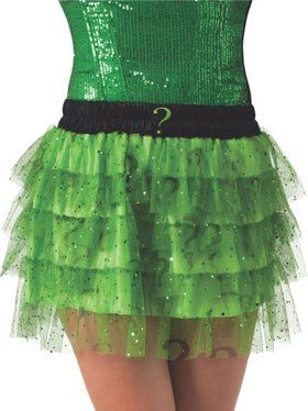 Women's Riddler Skirt with Sequins