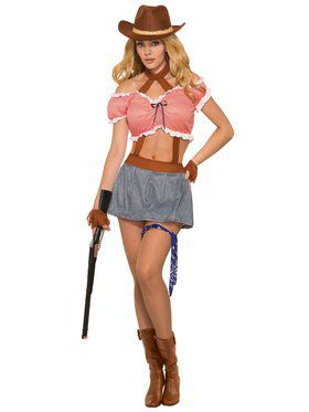 Womens Ridem Cowgirl Costume