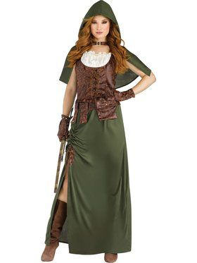 Womens Robin Hood Costume