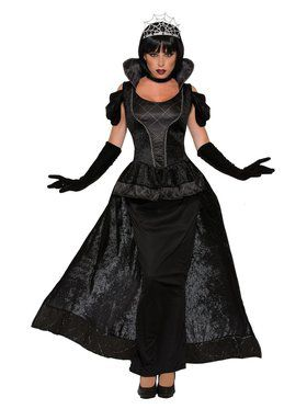 Royal Dark Queen Costume for Women