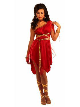 Womens Ruby Red Goddess Costume
