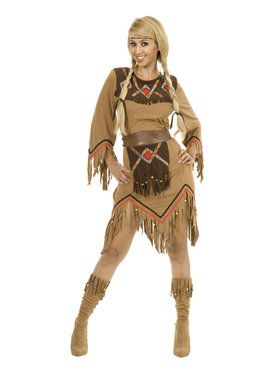 Indian Maiden Sacajawea Costume