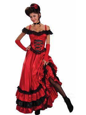 Women's Saloon Sweetie Costume