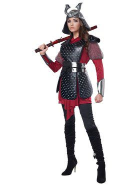 Samurai Warrior Womens Costume