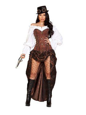 Womens Sassy Machinery Steampunk Costume