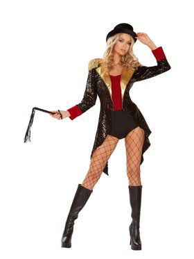 Womens Sassy Ringmaster Of Circuses Costume