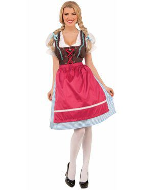 Adult Schatzi the Bavarian Girl Costume