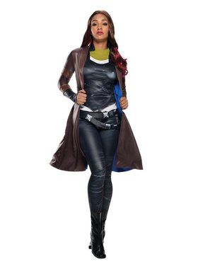 Womens Secret Wishes Gamora Deluxe Coat Costume