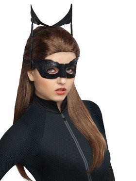 Sexy Batman The Dark Knight Rises Catwoman Wig for Adults