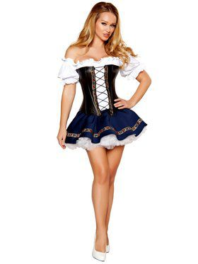Womens Sexy Beer Maiden Baby Costume