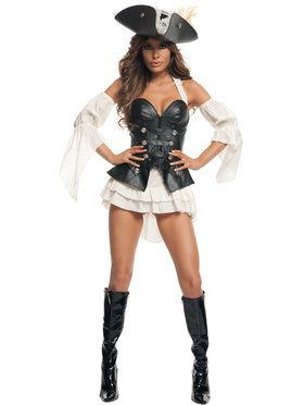 Sexy Black Pearl Pirate Costume