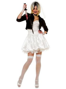 Womens Sexy Bride Of Chucky Costume  sc 1 st  BuyCostumes.com & Womenu0027s TV and Movie Costumes - Women Halloween Costumes ...