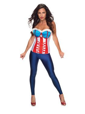 Secret Wishes Adult American Dream Corset