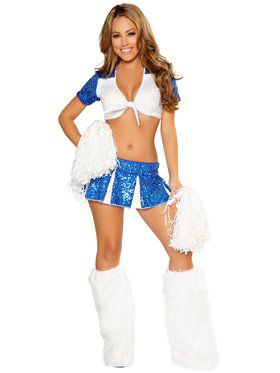 Womens Sexy Charming Cheerleader Costum