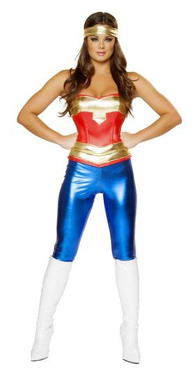 Women's Sexy Comic Cutie Costume