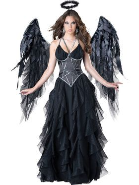Women's Sexy Dark Angel Costume