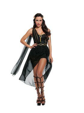 Dark Roman Goddess Costume
