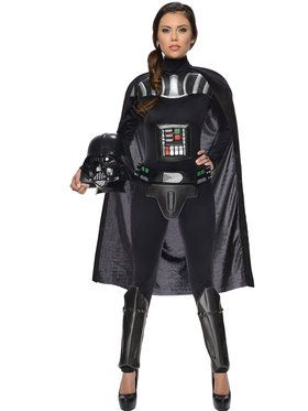 Womens Sexy Darth Vader Costume