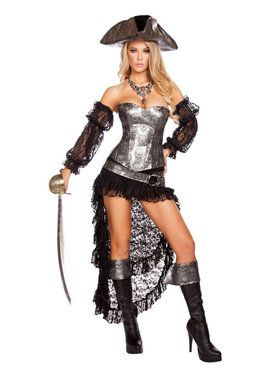 Sexy Deadly Pirate Womens Costume