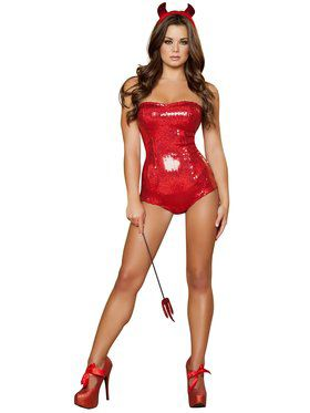 Womens Sexy Devilish Delight Costume
