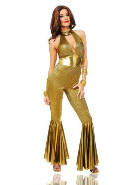 Women's Sexy Disco Diva Costume