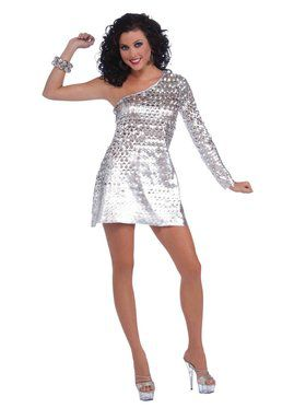 Womens Sexy Disco Honey Costume