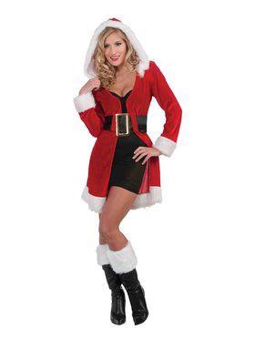 Womens Sexy Enchanted Miss Christmas Sho