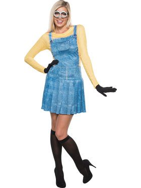 Women's Sexy Female Minion Costume