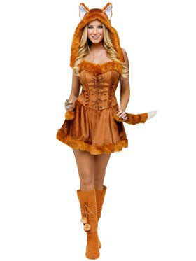 Womens Sexy Foxy Lady Costume
